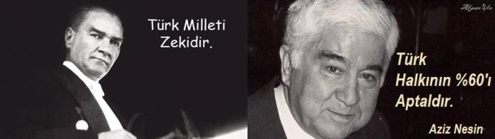 şu ülkede Türk Milleti Zekidir Diyen Atatürk Yerine 60ı