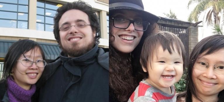 Bi Garip Aile İlişkisi: İki Yıl Önce Kocasıydı Şimdi Karısı Oldu